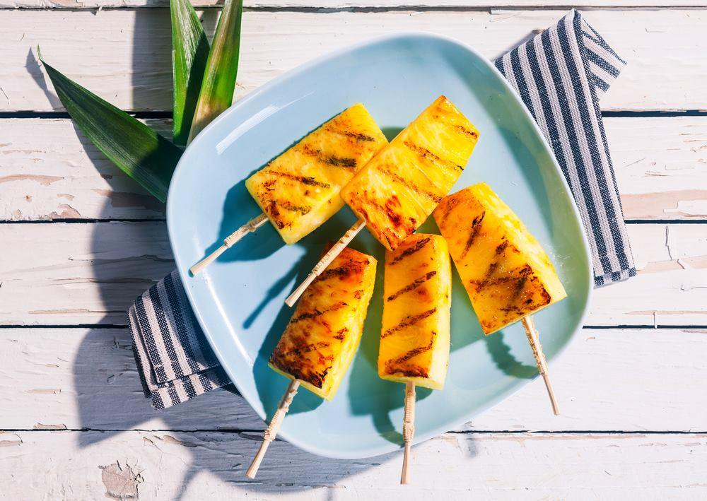 grill pineapple delicious