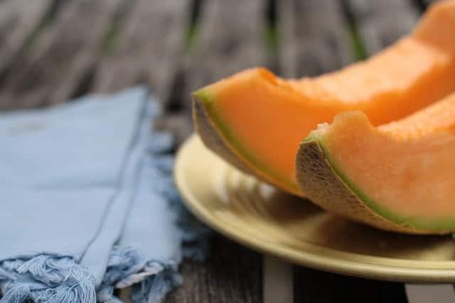 healthy skin cantaloupe