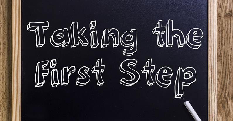 take first step